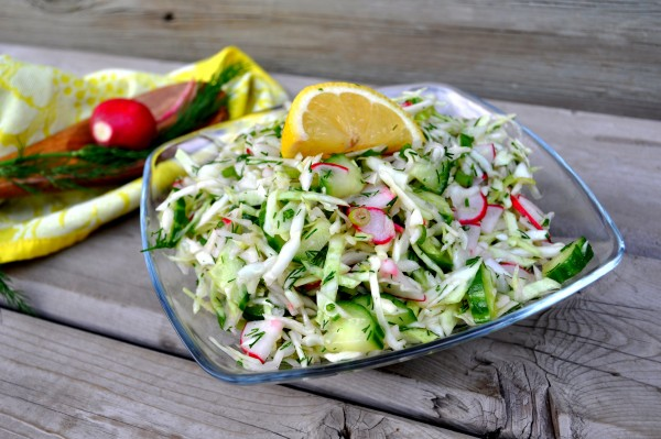Zesty Cabbage Salad