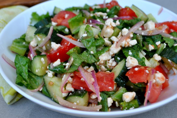 greek garden salad - Garden Salad Recipe
