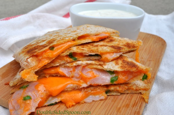 Tangy Ham and Cheese Quesadilla Recipe
