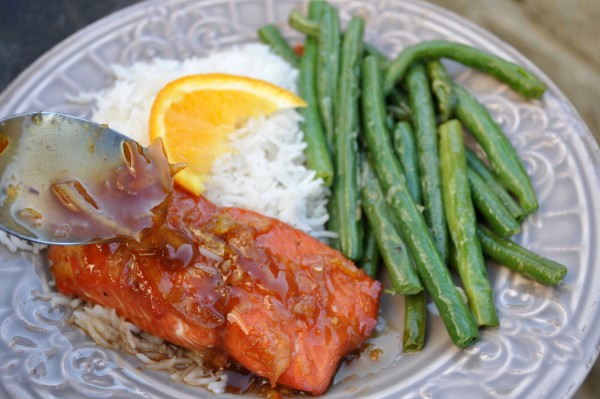 Soy and Orange Marmalade Salmon Recipe